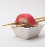 Thunfischsushi nigiri Stockfoto