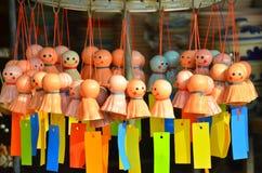 Thung Kwian marknad på Lampang, Thailand Arkivfoton