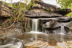 Thung Na Mueang Waterfall Stock Photos