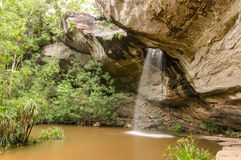 Thung Na Mueang Waterfall Stock Image