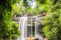 Thung Na Mueang Waterfall Stock Photo