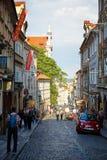 Thunovská St. Prague Stock Image