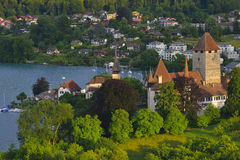 Thunstad zwitserland Royalty-vrije Stock Foto