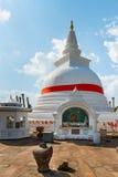 Thuparamaya dagoba in Anuradhapura, Sri Lanka Stock Photos
