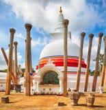Thuparamaya dagoba. Royalty Free Stock Image