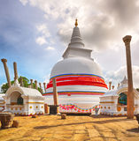 Thuparamaya dagoba. Royalty Free Stock Photography