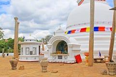 Thuparamaya Dagoba, Sri Lanka UNESCO World Heritage Stock Image