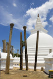 Thuparamaya Temple, Anuradhapura, Sri Lanka Stock Photos