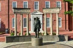 Thurgood Marshall - Chambre d'état du Maryland images libres de droits