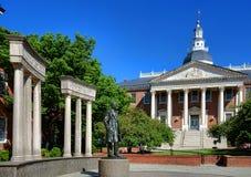 Thurgood Marshall Memorial à la Chambre d'état du Maryland Photo stock