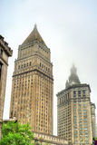 Thurgood Marshall United States Courthouse and Manhattan Municipal Building in New York City Stock Photo