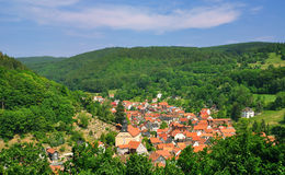 Thuringia,East germany Royalty Free Stock Images
