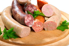Thuringia sausage Royalty Free Stock Photography
