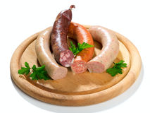 Thuringia sausage Stock Photography