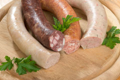 Thuringia sausage Royalty Free Stock Photos