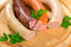 Thuringia sausage Stock Photo