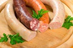 Thuringia sausage Stock Photo