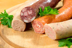 Thuringia sausage Stock Photos