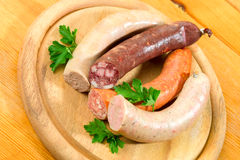 Thuringia sausage Stock Images