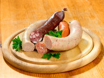 Thuringia sausage Royalty Free Stock Photo