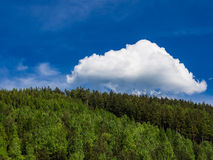 Thuringian Forest Royalty Free Stock Images