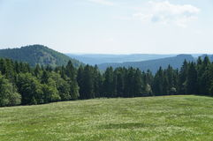 The Thuringian Forest in Germany Royalty Free Stock Photo
