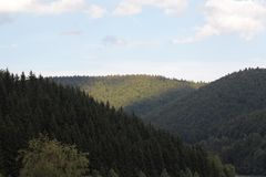 Thuringian Forest Royalty Free Stock Image