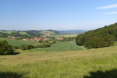 Thuringian Landscape Royalty Free Stock Image