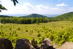 Thuringian Landscape Stock Image