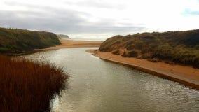 Thurlestone beach South Devon England UK. stock photos