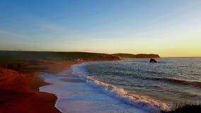 Thurlestone beach South Devon England UK. stock images