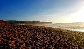 Thurlestone beach South Devon England UK. royalty free stock photography