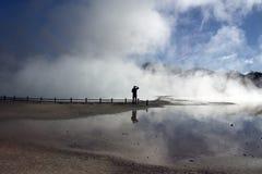 thurmal κοιλάδα Στοκ Φωτογραφίες