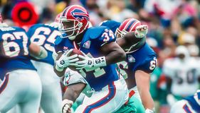 Thurman Thomas Immagine Stock