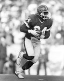 Thurman Thomas. Buffalo Bills RB Thurman Thomas, #34. (Image taken from the B&W negative royalty free stock photos