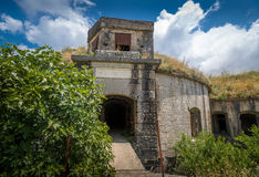 Thurmfort Gorazda fortress main gate Royalty Free Stock Photography