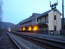 Thurmond, W VA Zug-Depot lizenzfreie stockfotos