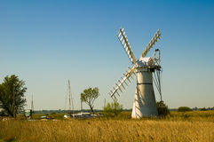 Thurne Pump Drainage Mill Stock Photos