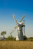 Thurne Pump drainage mill Stock Photography