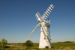 Thurne Pump Drainage Mill Stock Image