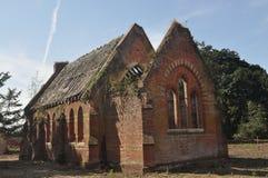 Thursford大厅教堂 图库摄影