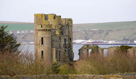 Thurso Castle royalty free stock photography