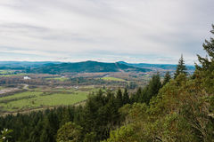 Thurston Hills Natural Area Scenic Landscape. Thurston Hills Natural Area in Springfield Oregon offers great views after a tough hike to the top of some cliffs Stock Images