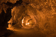 Thurston Lava Tube Royalty Free Stock Photo