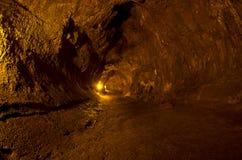 Thurston Lavagefäß, Vulkan-Nationalpark Stockfotografie