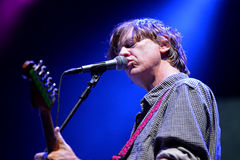 Thurston Moore (musician best known as a singer, songwriter and guitarist of Sonic Youth) Royalty Free Stock Photos