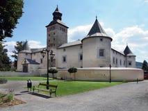 Thurzo slott i Bytca Royaltyfria Bilder