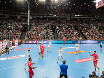 THW Kiel - MT Melsungen HC - 25th Novemver 2015 - Kiel, North Germany Royalty Free Stock Images