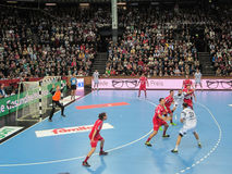 THW Kiel - MT Melsungen HC - 25th Novemver 2015 - Kiel, North Germany Stock Images