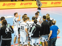 THW Kiel - MT Melsungen HC - 25th Novemver 2015 - Kiel, North Germany Royalty Free Stock Photo